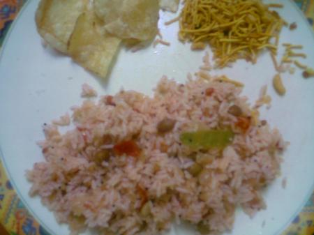 Yummy Tomato rice