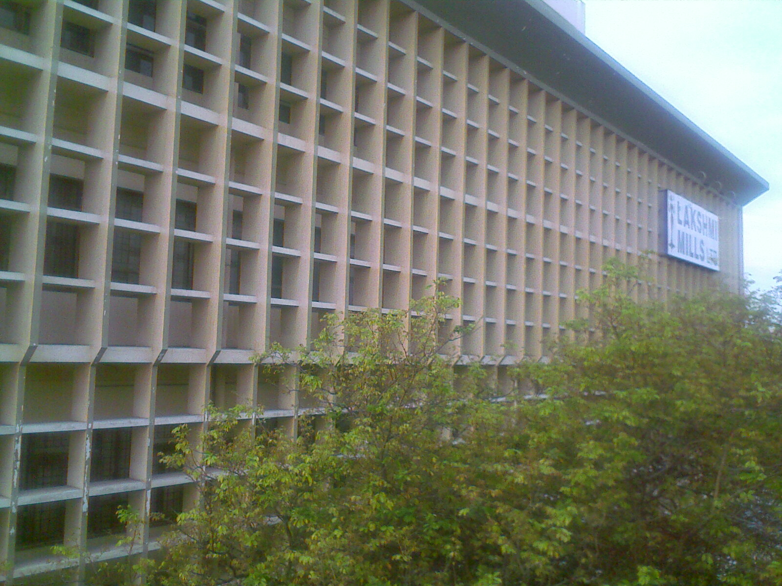 Boxed exterior of a building in Cbe