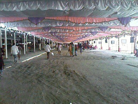 Inside the main hall - Ulaga Thamizh Semmozhi Manadu , Coimbatore
