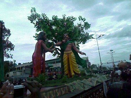 Iniyavai Narpadhu 17 Coimbatore Semmozhi manadu procession VOC park to CODISSIA photos