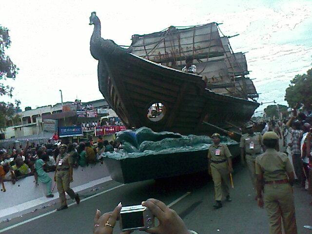 Iniyavai Narpadhu 26 - Semmozhi Manadu ship photo